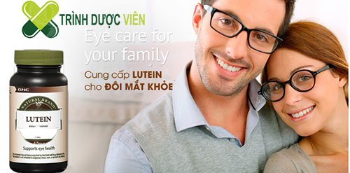 GNC Lutein 40 mg mang lại đôi mắt khỏe đẹp cho người sử dụng