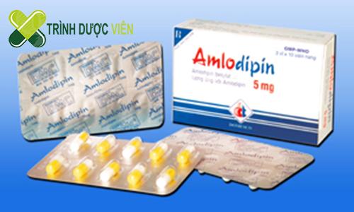 Thuốc điều trị tăng huyết áp Amlodipin