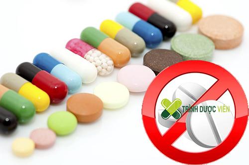 center>Dùng thuốc chống hen, cấm dùng chẹn beta