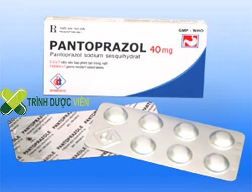 Trình dược viên hướng dẫn dùng thuốc Pantoprazol 40mg