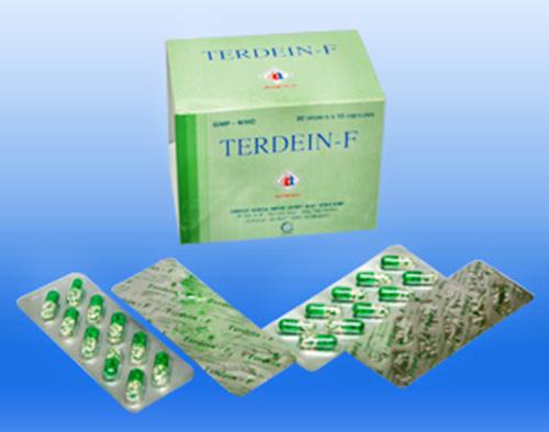 Trình dược viên hướng dẫn dùng thuốc Terdein F