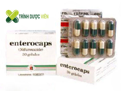 Thuốc điều trị tiêu chảy Entero-caps