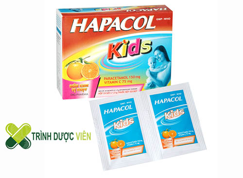 Thuốc giảm đau cho trẻ Hapacol Kids