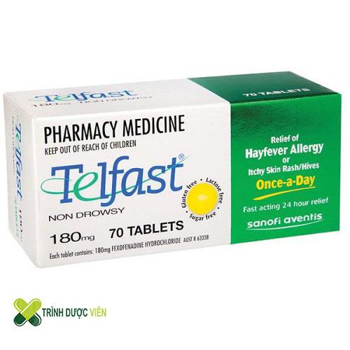 Hướng dẫn cách sử dụng thuốc Telfast điều trị viêm mũi dị ứng