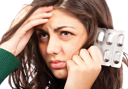 Trường hợp mắc bệnh đau nửa đầu nhẹ