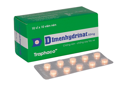 Thuốc Dimenhydrinat