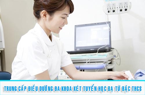Tuyển sinh Trung cấp Điều dưỡng đa khoa năm 2017