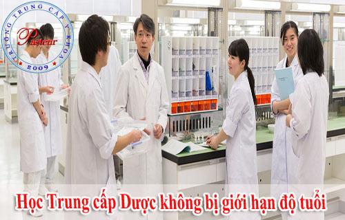 Bất kỳ lứa tuổi nào cũng có thế học Trung cấp Dược tại Trường Cao đẳng Y Dược Pasteur