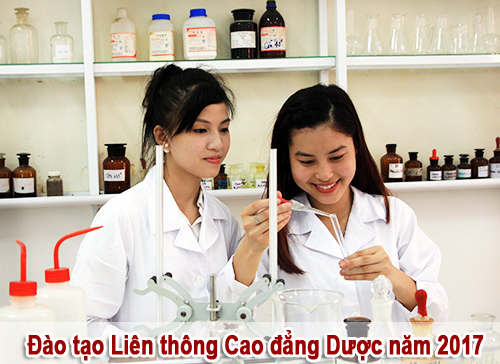 Đào tạo liên thông Cao đẳng Dược Hà Nội năm 2017