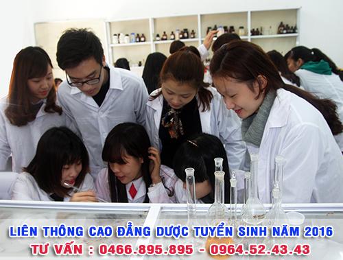 Hồ sơ học liên thông Cao đẳng Dược - Trường Cao đẳng Y Dược Pasteur