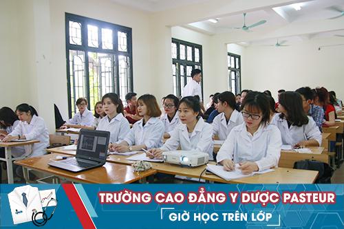 Trường đào tạo theo chuẩn của Bộ Y tế.