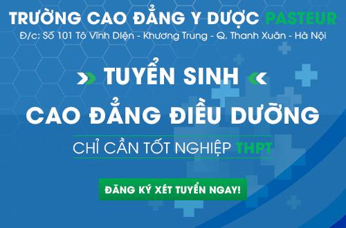 Xét tuyển Cao đẳng Điều dưỡng Hà Nội điều kiện chỉ cần tốt nghiệp THPT