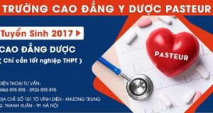 Điểm chuẩn Cao đẳng Dược năm 2017