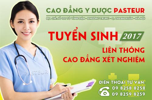 Cao đẳng Y Dược Hà Nội - Trường Cao đẳng Y Dược Pasteur: