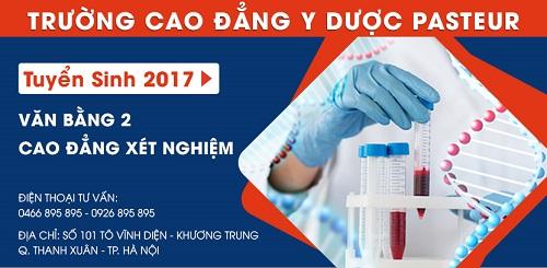 Đối tượng tuyển sinh Văn bằng 2 Cao đẳng Xét nghiệm - Trường Cao đẳng Y Dược Pasteur
