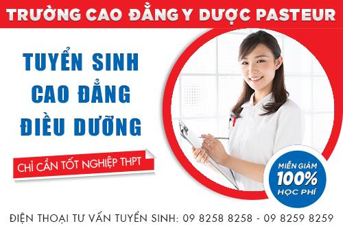 Cao đẳng Điều dưỡng - Trường Cao đẳng Y dược Pasteur