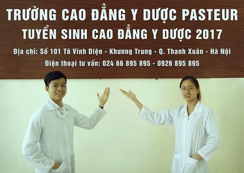 Thông tin tuyển sinh Cao đẳng Y Dược Hà Nội - Trường Cao đẳng Y Dược Pasteur