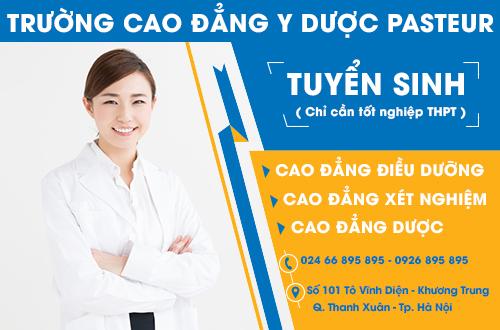 Tuyển sinh Cao đẳng Y Dược Hà Nội - Chỉ cần tốt nghiệp THPT