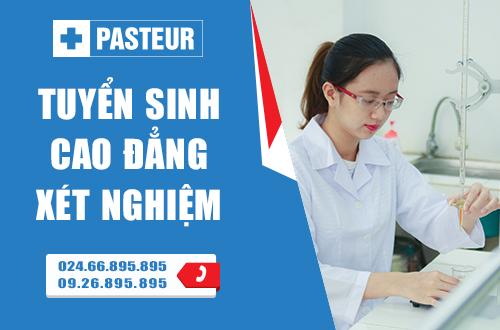 Trường Cao đẳng Y Dược Pasteur đào tạo Cao đẳng Xét nghiệm chuyên nghiệp