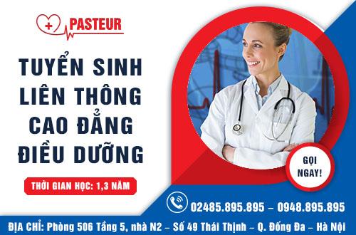 Liên thông Cao đẳng Điều dưỡng tuyển sinh năm 2017 tại Hà Nội