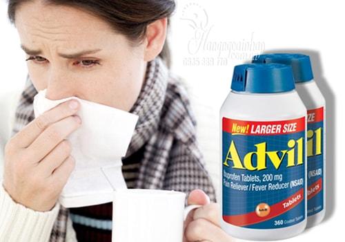 Viên uống giảm đau Advil Ibuprofen