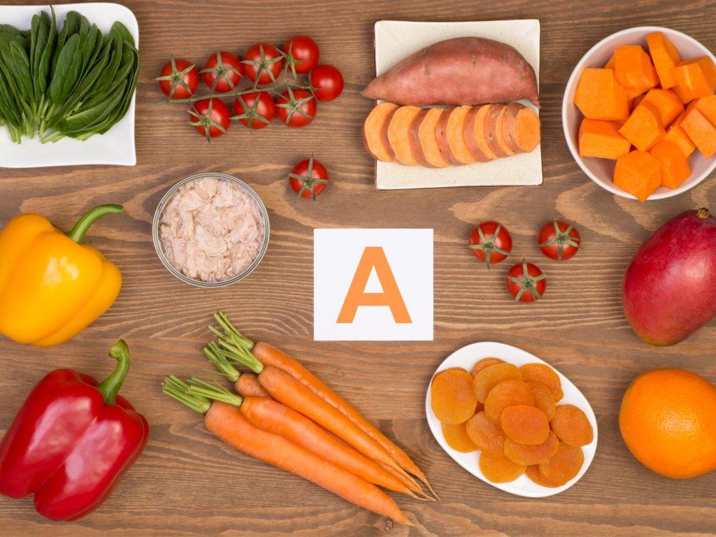 Bổ sung vitamin A từ đâu?