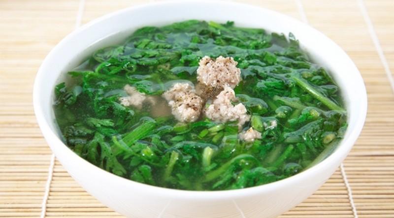 Tác dụng chữa bệnh của rau tần ô