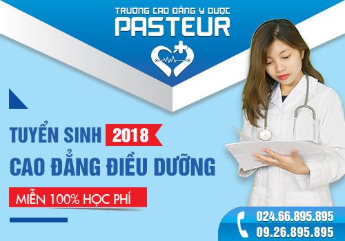 Thông báo tuyển sinh Cao đẳng Điều dưỡng Hà Nội 2018