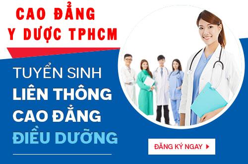 Tuyển sinh Liên thông Cao đẳng Điều dưỡng TPHCM năm 2018
