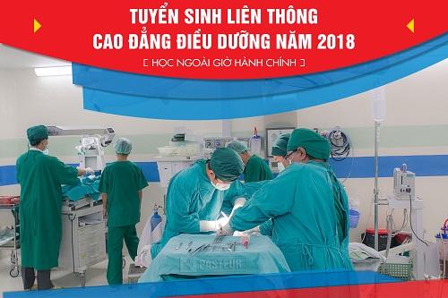 Học Liên thông Cao đẳng Điều dưỡng TPHCM đào tạo ngoài giờ hành chính năm 2018