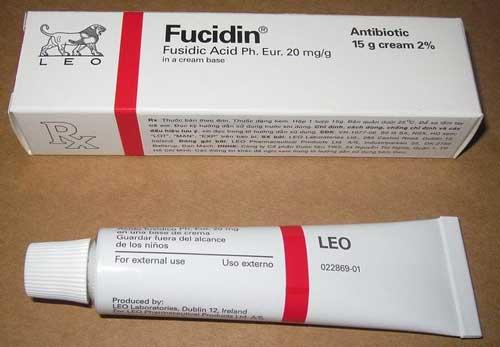 Hướng dẫn cách sử dụng thuốc Fucidin an toàn