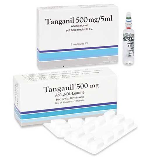 Hướng dẫn liều dùng và cách dùng thuốc Tanganil