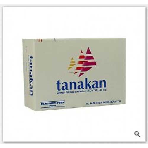 Hướng dẫn sử dụng thuốc Tanakna 40mg đúng cách