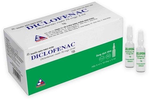 Liều lượng dùng thuốc diclofenac