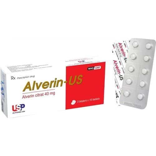 Thuốc Alverine Citrate 40mg có gây ra tác dụng phụ không?