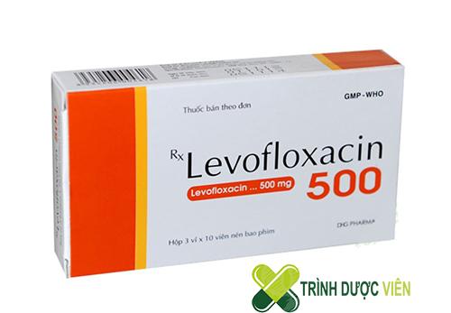 Levofloxacin 500mg dạng viên nén bao phim