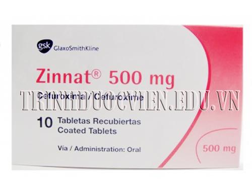 Trình dược viên giới thiệu thuốc kháng sinh Zinnat