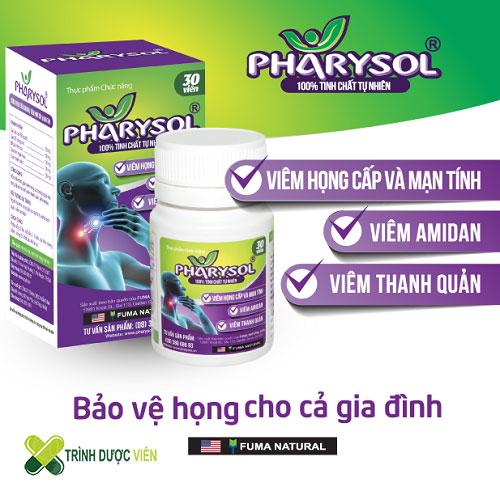 Thuốc Pharysol điều trị viêm họng có tốt hay không?