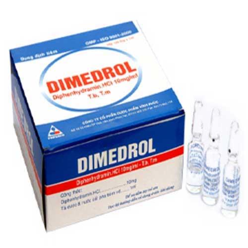 Tìm hiểu tác dụng của thuốc Dimedrol