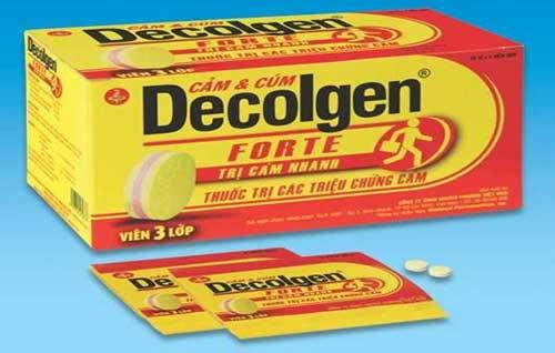 Trình dược viên hướng dẫn cách sử dụng thuốc Decolgen