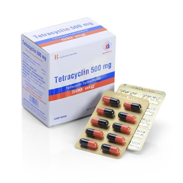 Thuốc Tetracyclin 500mg: Công dụng, liều dùng và tác dụng phụ của thuốc