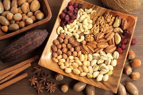 Hạt dinh dưỡng là một món quà tết tốt cho sức khỏe