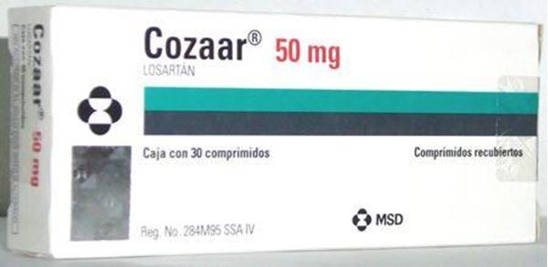 Thuốc điều trị tăng huyết áp Cozaar