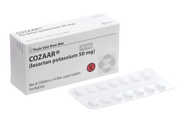 Thuốc điều trị tăng huyết áp Cozaar: Công dụng, liều dùng và tác dụng phụ