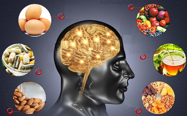 Thực phẩm giúp tăng cường trí não
