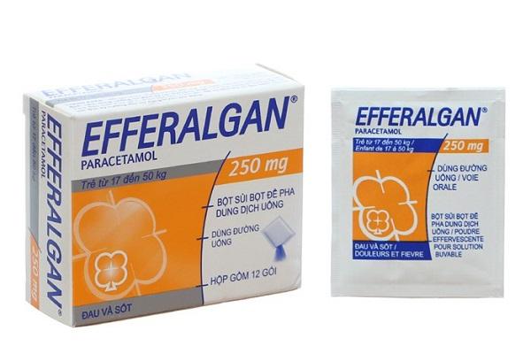 Trình Dược viên hướng dẫn sử dụng thuốc hạ sốt efferalgan
