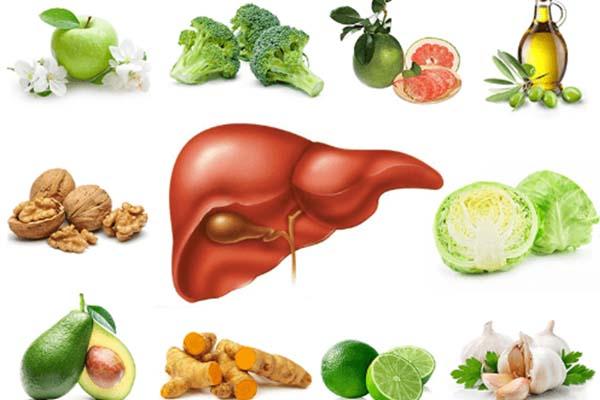 Các loại thực phẩm tốt cho gan
